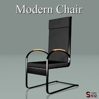 rocker chair 3d model