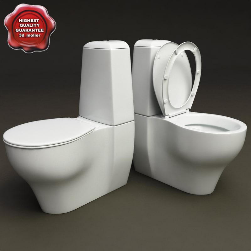 3d toilet v2 model