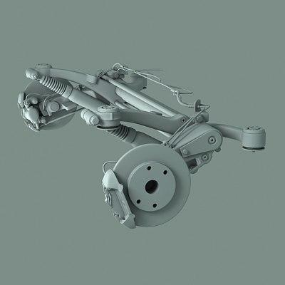 peugeot diskbrake 3d model
