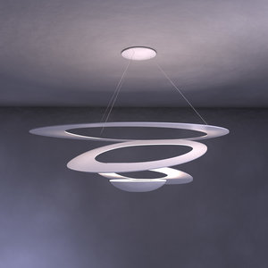 3ds max artemide pirce lamp