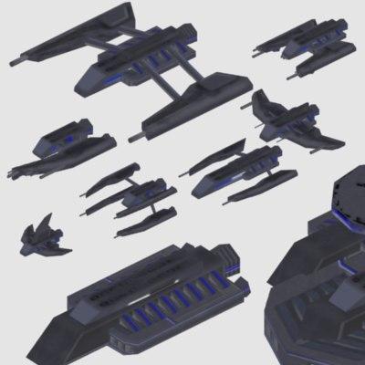 3d space fleet coalition