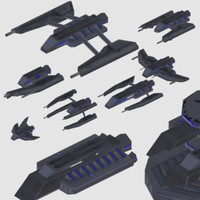3d space fleet coalition