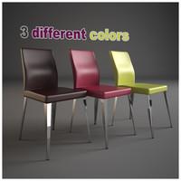 3d bar furnishing set chair model