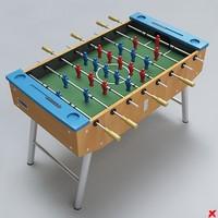 3d table ball model