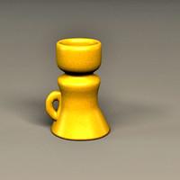 3d old goblet model
