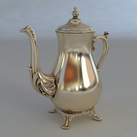 3d model of antiquarian jug