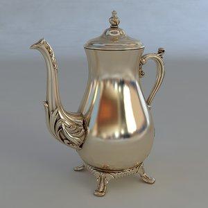 3d model of antiquarian jug