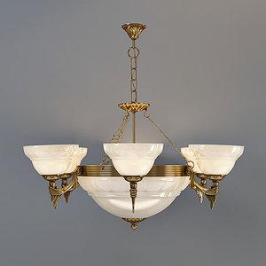 3d model eglo marbella pendant lamp