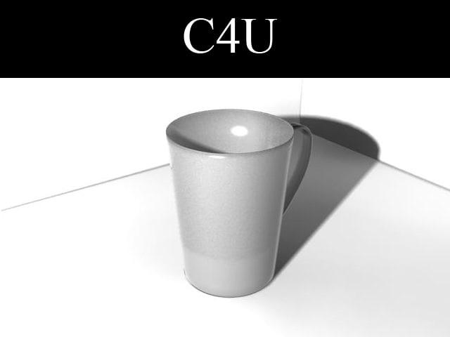 3d model of tea cup