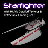ma fighter sci-fi landing