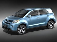 3ds toyota urban cruiser suv