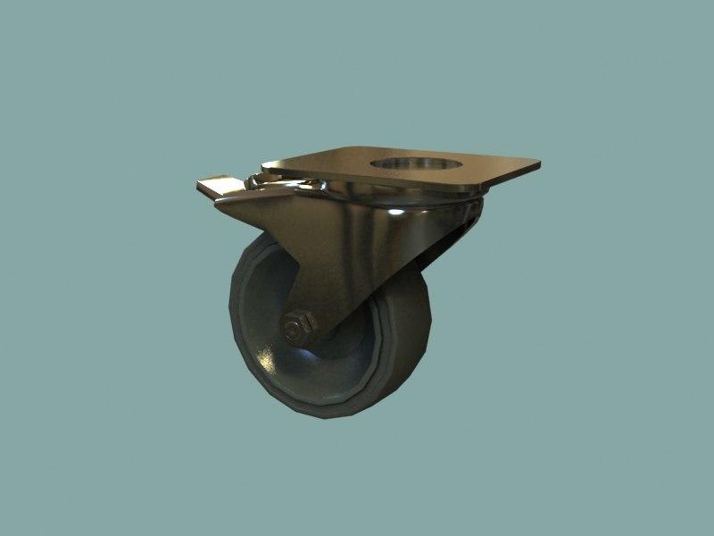 3d industrial weel model