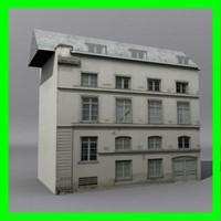 building 01 3d dwg