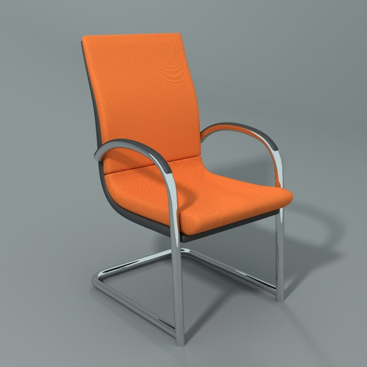 3d model ahrend office chair