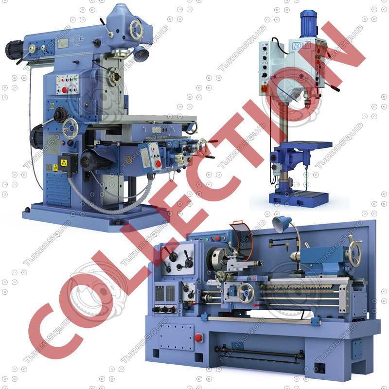 industrial equipment 3d 3ds