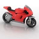 Desmosedici 3D models