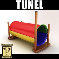 maya playground tunnel