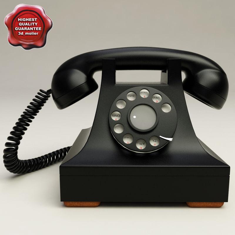 retro phone lwo