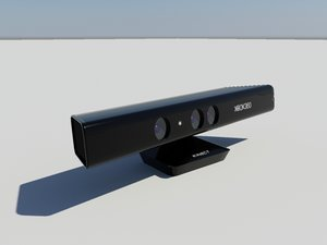 kinect microsoft motion 3d max