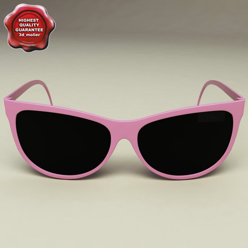 sunglasses v1 glass 3d model