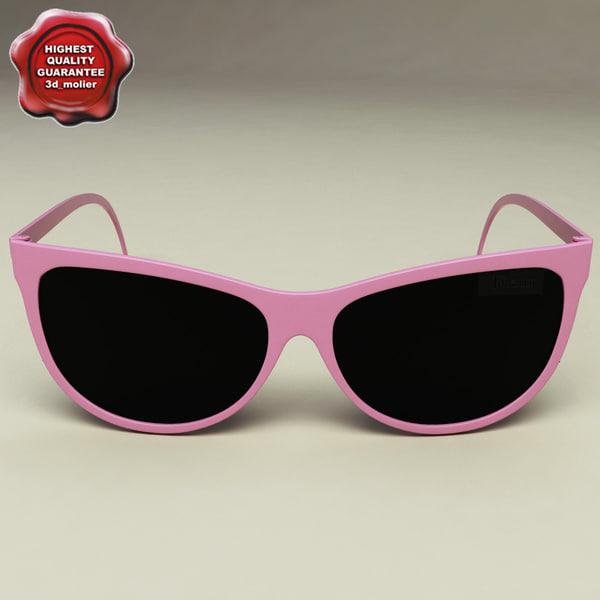 sunglasses v1 glass 3d model