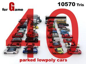 40 cars max