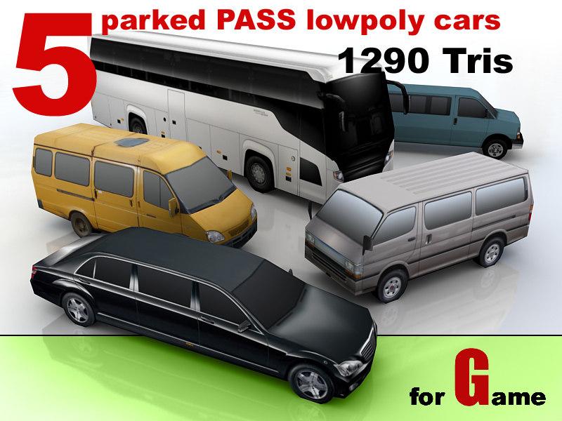 parked cars 5 3d 3ds