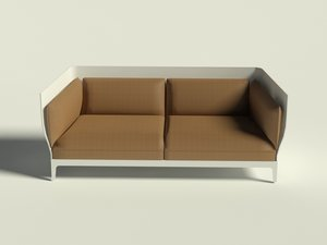 max poltrona frau double sofa