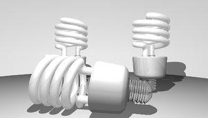 energy bulb 3d model