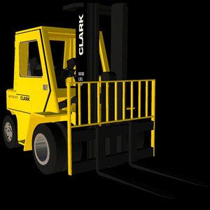 industrial vehicle clark zero pz3
