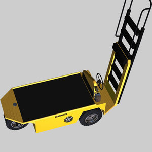 poser industrial vehicle cart pzecart