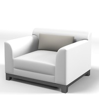 3d jnl chair armchair