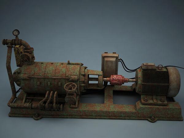 3d old multistage pump