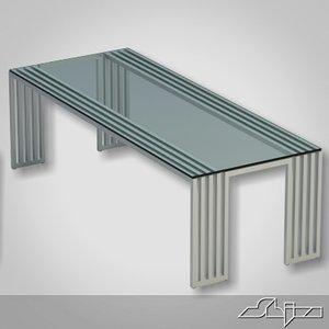 dining table azure 3d model