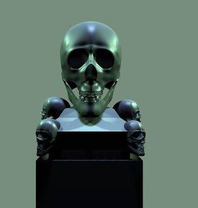 blend skull