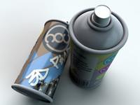 Graffiti Spraycan