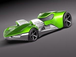 3d hotwheels hot wheels twin model