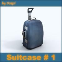 case suitcase 3d model