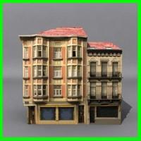 building 04 3d dwg