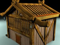 japanese house 3d max