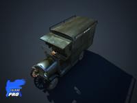 Old Retro Truck Car