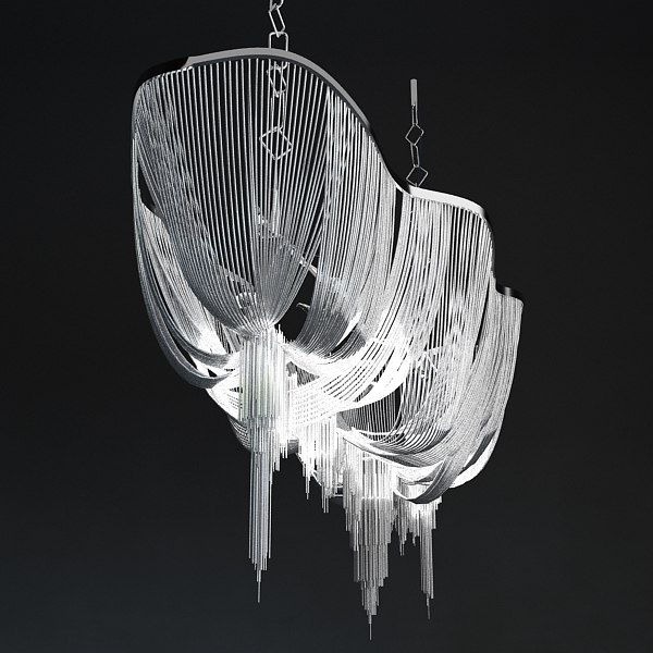 max terzani atlantis chandelier