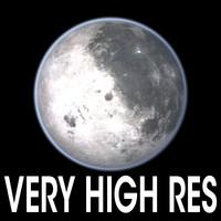 3ds max moon satellite solar
