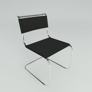 marcel breuer chair 3d model