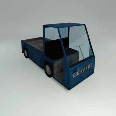 3d cushman cart