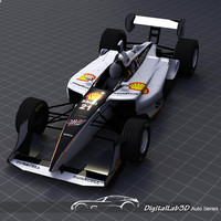 2006 champ car shell-miller 3d max