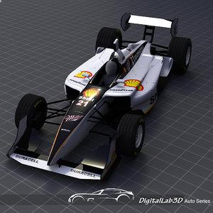 2006 champ car shell-miller 3d max