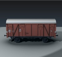freight wagon db 3ds