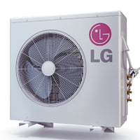 3d model air conditioner lg lmu365hv