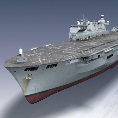 hms ocean ship 3ds